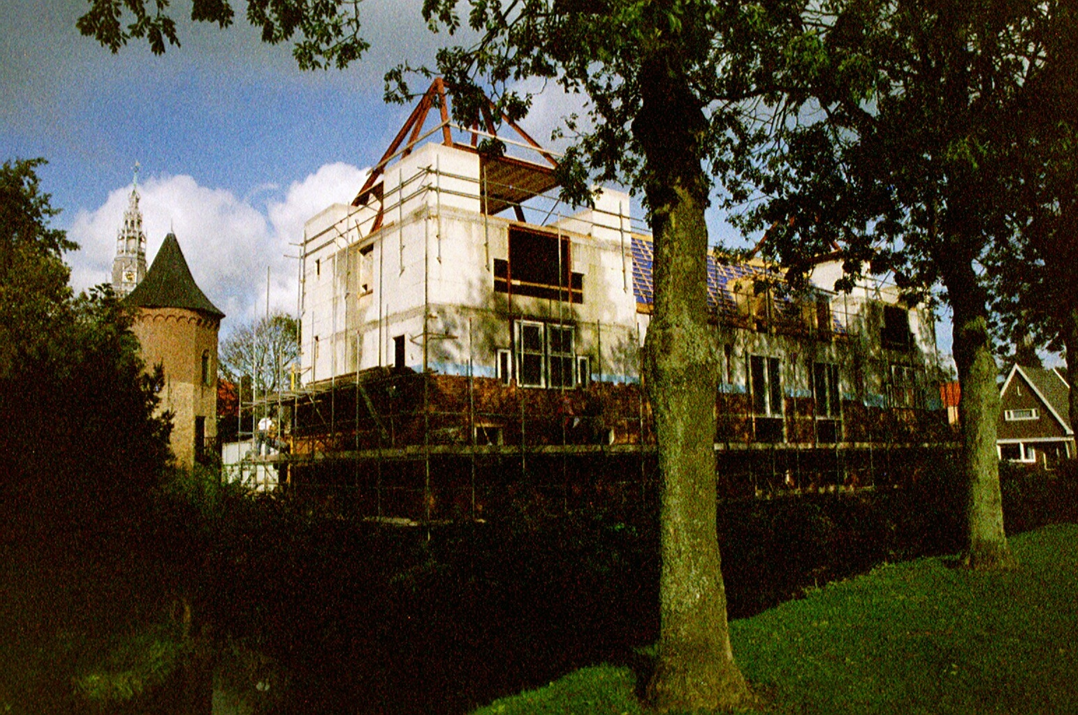 Rebuilding activities in 2001.